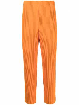Homme Plisse Issey Miyake плиссированные брюки прямого кроя HP16JF113