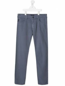Emporio Armani Kids джинсы кроя слим 3K4J453N4FZ