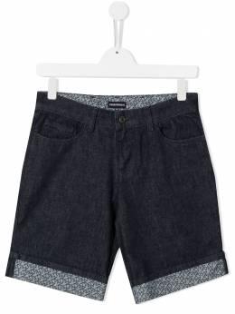Emporio Armani Kids джинсовые шорты 3K4PS11DY7Z