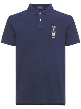 Рубашка-поло Из Хлопка Polo Ralph Lauren 73I7Q4038-MDAx0