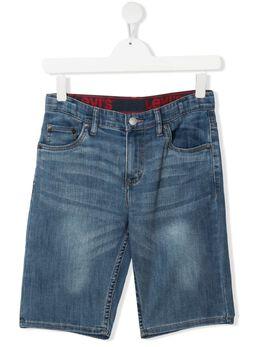 Levi's Kids джинсовые шорты с логотипом EC770