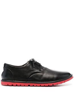 Marsell туфли дерби на контрастной подошве MMG002310