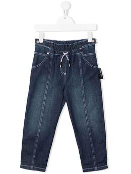Givenchy Kids джинсы с логотипом на поясе H14127