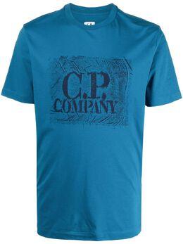 C.P. Company футболка с логотипом 10CMTS204A006011W