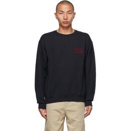 Wacko Maria Black Type-1 Sweatshirt 21SSE-WMC-SS05