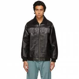 Noon Goons Black Leather Ambitionz Jacket NGSP21001