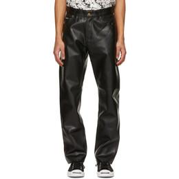 Noon Goons Black Series Leather Pants NGSP21022