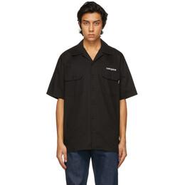 Noon Goons Black Logo Shop Short Sleeve Shirt NGSP21018