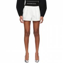 Alexander Wang White Safari Shorts 1WC2214358