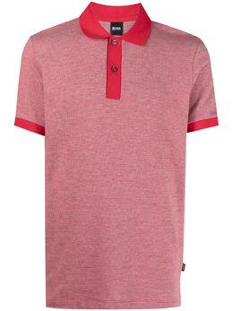 Boss by Hugo Boss меланжевая рубашка поло 50449053