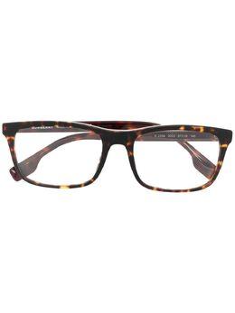 Burberry Eyewear очки в оправе черепаховой расцветки B2334