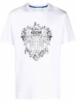Koche футболка с круглым вырезом и логотипом SK4GC0012S23727