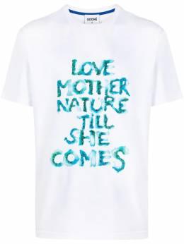 Koche футболка с надписью SK4GC0013S23727