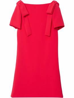 Carolina Herrera платье-трапеция с бантом S2111N533SFR