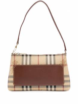 Burberry Pre-Owned сумка-тоут в клетку House Check S
