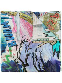 Ps by Paul Smith шарф с принтом M2A756FFS07