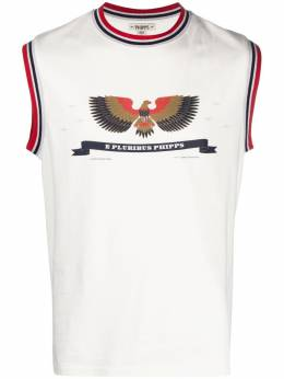 Phipps футболка без рукавов с графичным принтом PHSS21N391