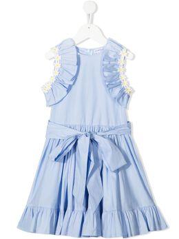 Piccola Ludo платье Carina с аппликацией CARINA