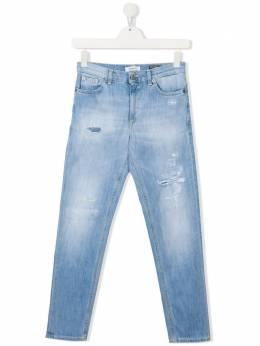 Dondup Kids джинсы скинни средней посадки DMPA135WD018