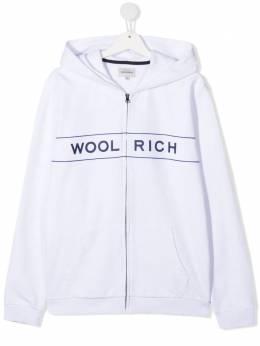 Woolrich Kids худи с логотипом CFWKSW0096MRUT2216