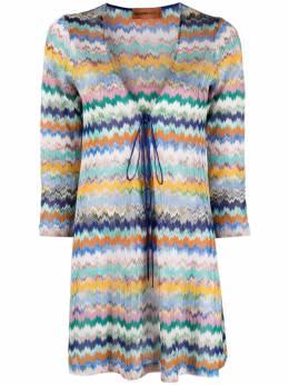 Missoni Mare трикотажная блузка с узором зигзаг MMQ00247BR00E8