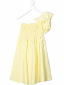 Miss Blumarine платье на одно плечо MBL3877