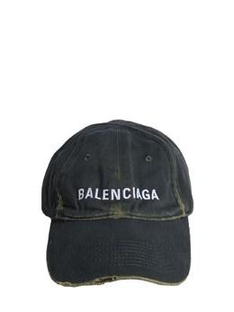 Бейсбольная Кепка Из Деним Balenciaga 73IWD2040-MzA3Nw2