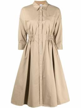 Aspesi платье-рубашка с эластичным поясом H606G463