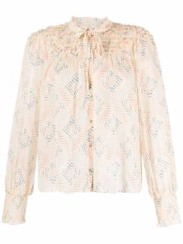 Ulla Johnson блузка с геометричным принтом SP210220