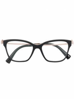 Bvlgari очки в оправе 'кошачий глаз' с кристаллами 4182B