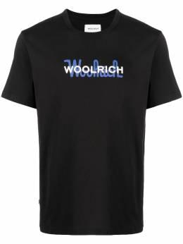 Woolrich футболка с логотипом CFWOTE0048MRUT1486