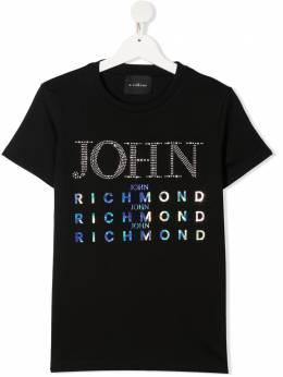 John Richmond Junior футболка с логотипом RGP21097TS