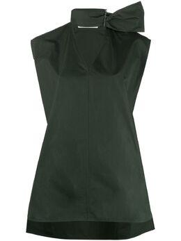 Jil Sander блузка с D-образной пряжкой JSWS566805WS244200