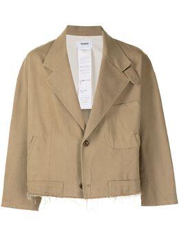 Doublet укороченный пиджак 21SS10JK39