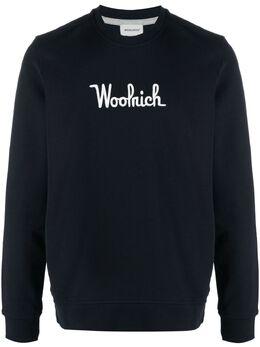 Woolrich толстовка с вышитым логотипом CFWOSW0090MRUT2544