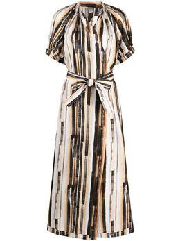Eleventy платье с завязками и принтом C80ABIC09TES0C205
