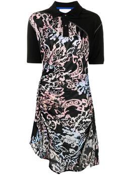 Koche платье-рубашка асимметричного кроя SK3CT0045S53863