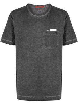 C.P. Company футболка с круглым вырезом и логотипом 10CMTS258A005433S