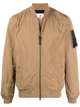 Woolrich бомбер с карманом на рукаве CFWOOU0359MRUT0573
