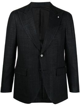 Lardini однобортный пиджак строгого кроя EL900032AEELC56510