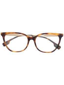 Burberry Eyewear очки в квадратной оправе черепаховой расцветки B2333