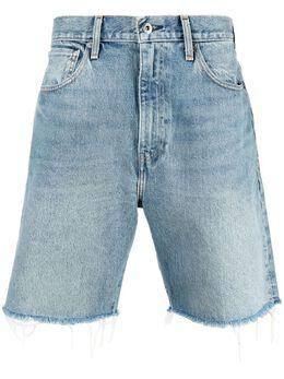 Levi's: Made&Crafted джинсовые шорты с необработанными краями 845920003
