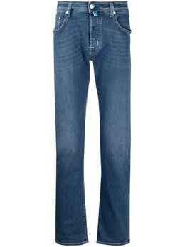 Jacob Cohen джинсы кроя слим с эффектом потертости J688COMF00918W2