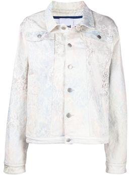 Koche джинсовая куртка с принтом SK3AM0001S30751