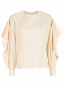 NK фактурная блузка с длинными рукавами BL041504