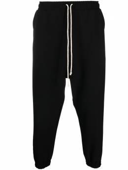 Alchemy брюки с низким шаговым швом и окантовкой ALL613