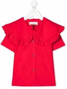 Touriste блузка с короткими рукавами и оборками ts146polly
