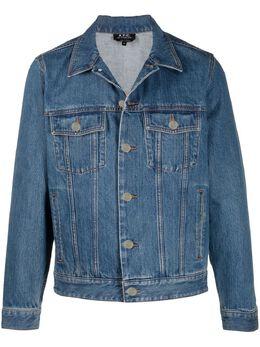 A.P.C. джинсовая куртка COEGSH02117