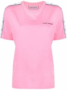 Chiara Ferragni футболка в полоску с логотипом 21PECFT124