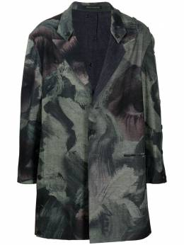 Yohji Yamamoto пальто миди HDJ14814